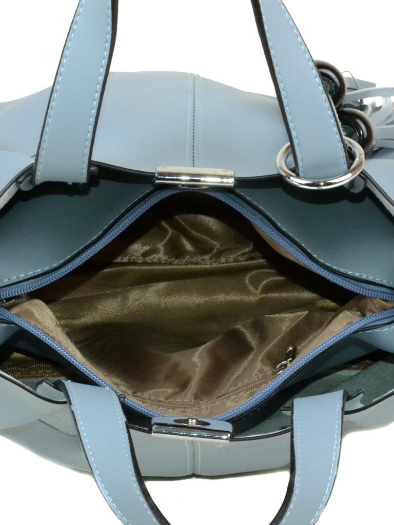 Сумка Женская Классическая иск-кожа Alex Rai 3-05 38801 blue - фото 4