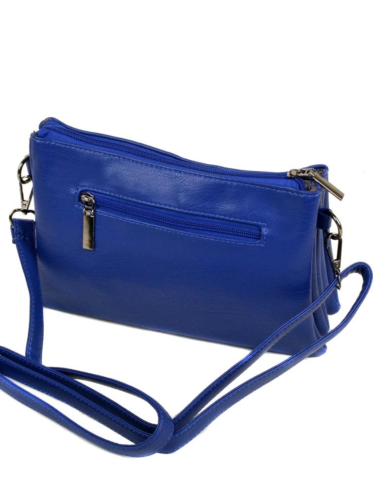 Сумка Женская Клатч иск-кожа 3-07 1079 blue - фото 3