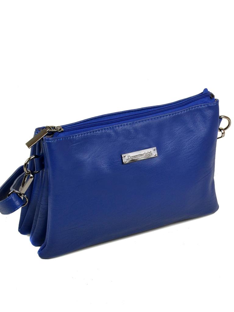 Сумка Женская Клатч иск-кожа 3-07 1079 blue