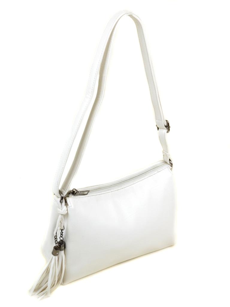 Сумка Женская Клатч иск-кожа 3-07 1089 white