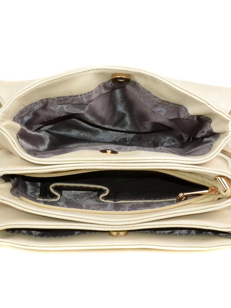 Сумка Женская Клатч иск-кожа 3-07 55084 beige