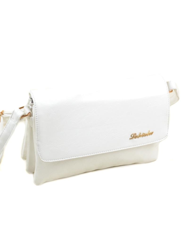 Сумка Женская Клатч иск-кожа 3-07 M-09 white
