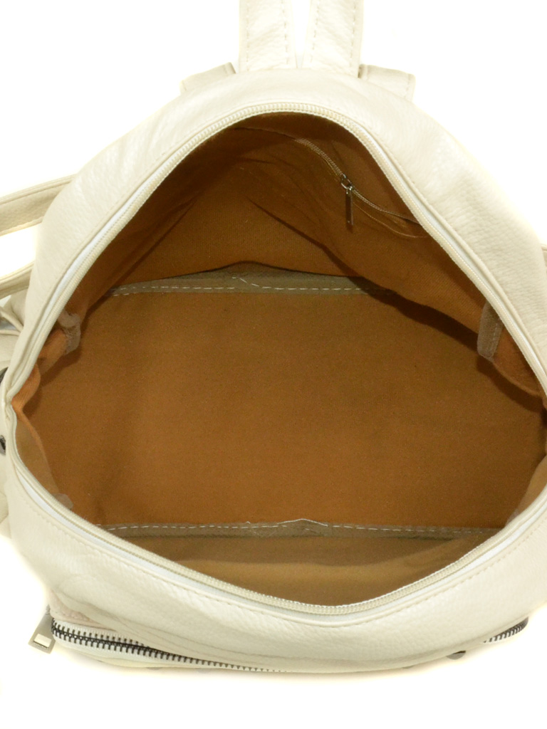 Сумка Женская Рюкзак иск-кожа 3-07 134 beige