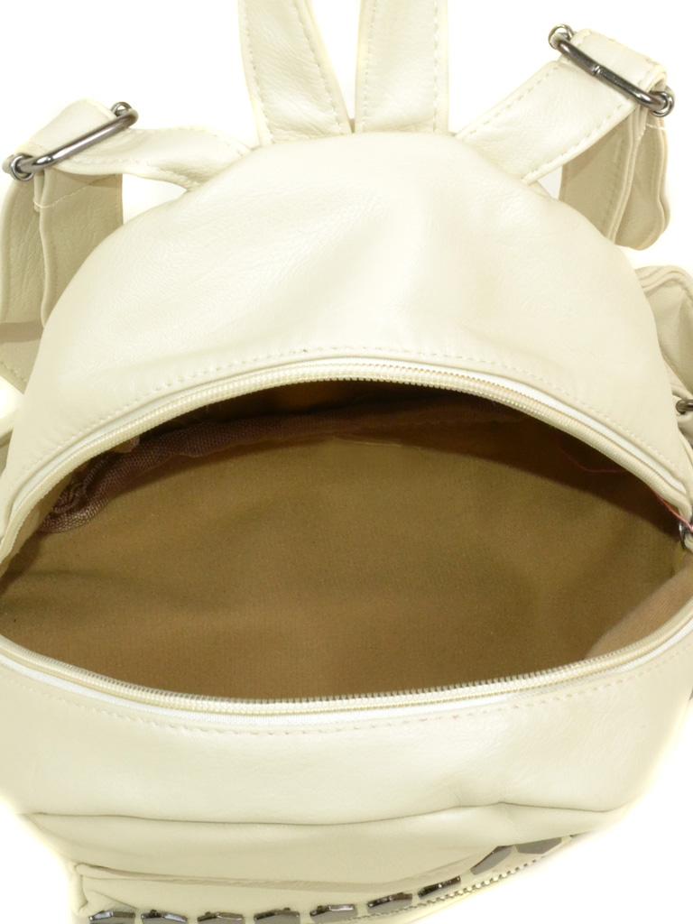 Сумка Женская Рюкзак иск-кожа 3-07 153 beige