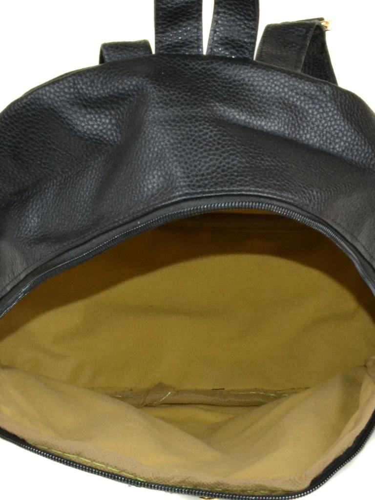 Сумка Женская Рюкзак иск-кожа 3-07 160 black - фото 4