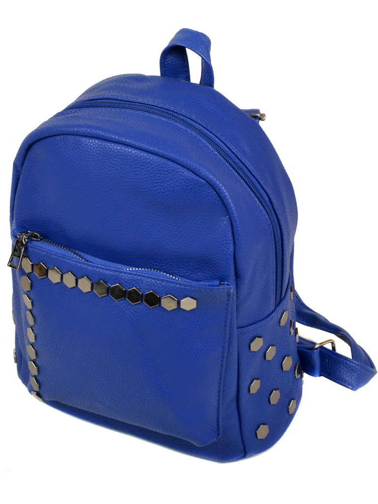 Сумка Женская Рюкзак иск-кожа 3-07 166 blue