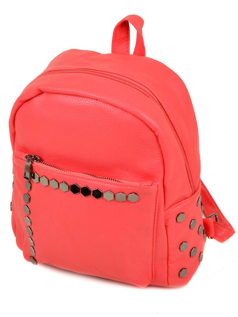 Сумка Женская Рюкзак иск-кожа 3-07 166 pink