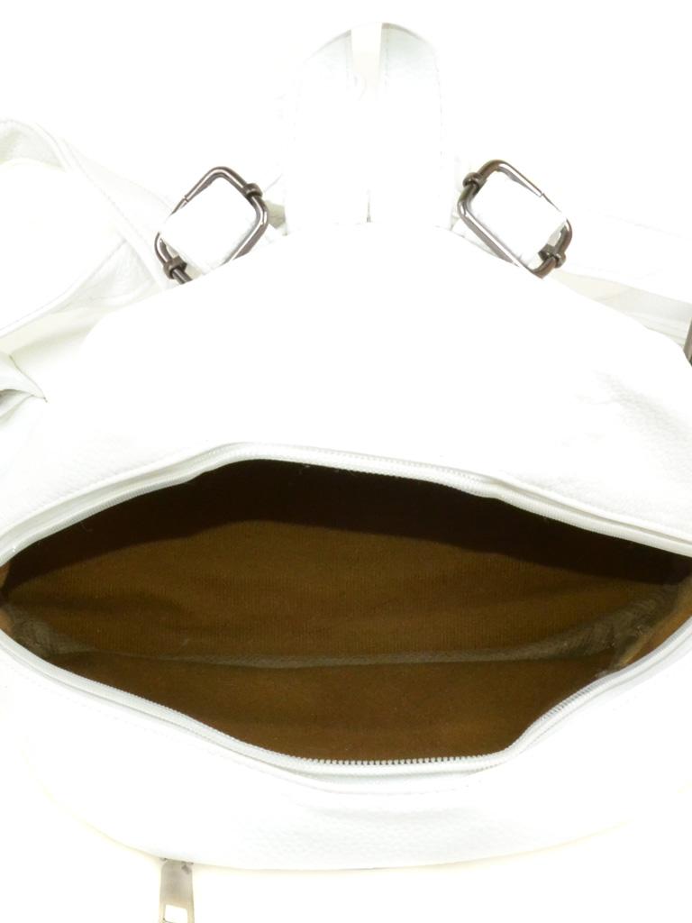 Сумка Женская Рюкзак иск-кожа 3-07 166 white