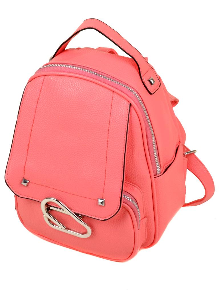 Сумка Женская Рюкзак иск-кожа 3-07 172 pink