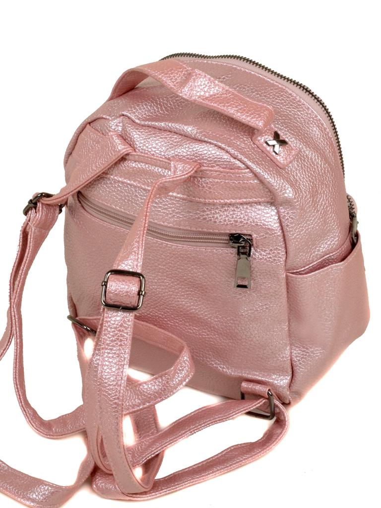 Сумка Женская Рюкзак иск-кожа 3-07 5804 pink