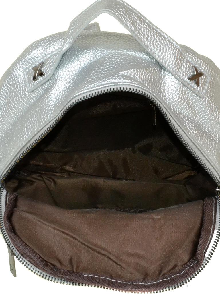 Сумка Женская Рюкзак иск-кожа 3-07 5804 silver
