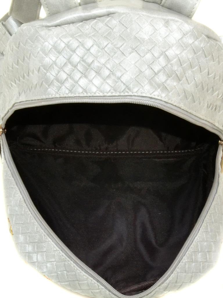 Сумка Женская Рюкзак иск-кожа 3-07 6611 silver