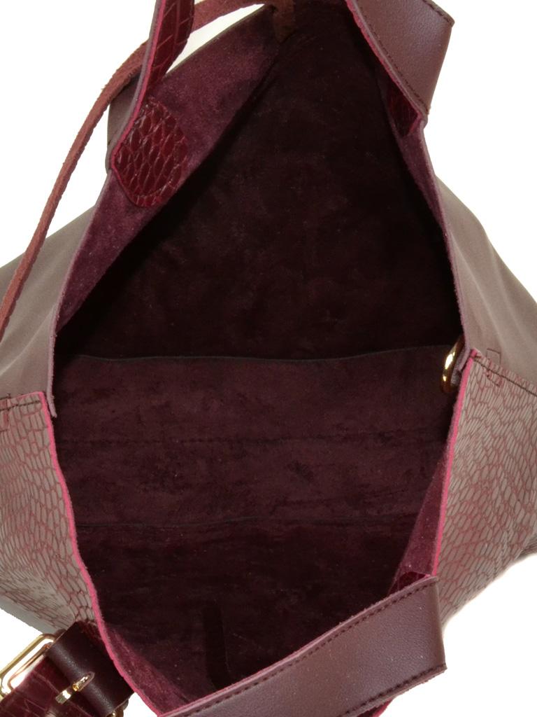 Сумка Женская Классическая иск-кожа Podium 3-03 629 wine - фото 4