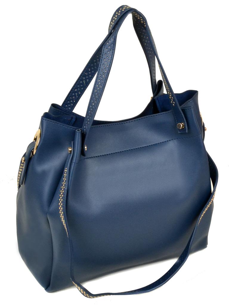 Сумка Женская Классическая иск-кожа Podium 3-04 R9033 blue