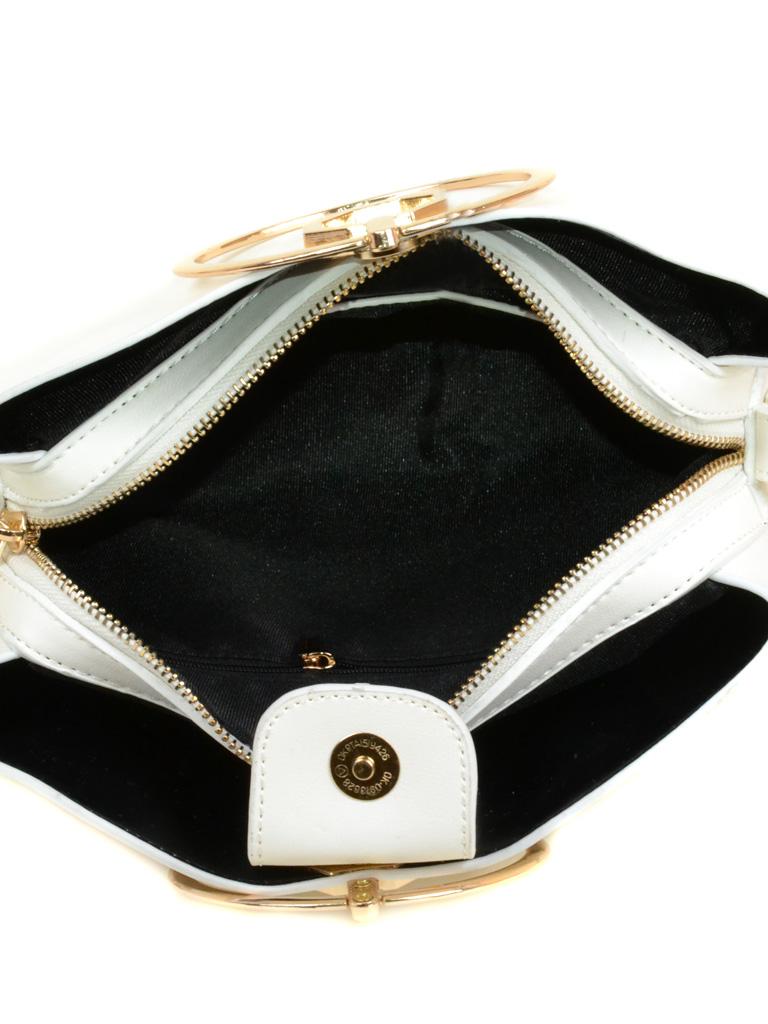 Сумка Женская Клатч иск-кожа Podium 3-06 F188 white