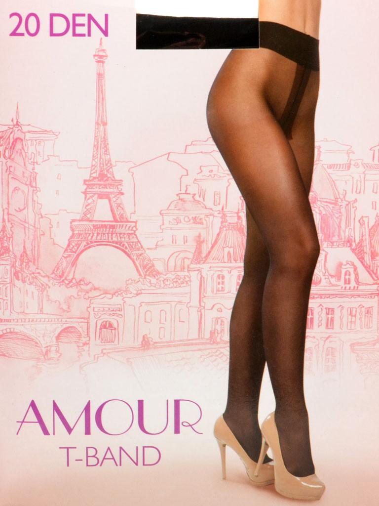 Колготки Женские капрон Amour 20 DEN 4-size natural