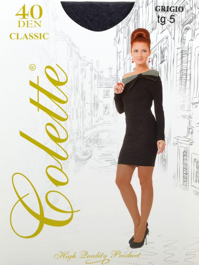 Колготки Женские капрон Colette 40 DEN 5-size grigio