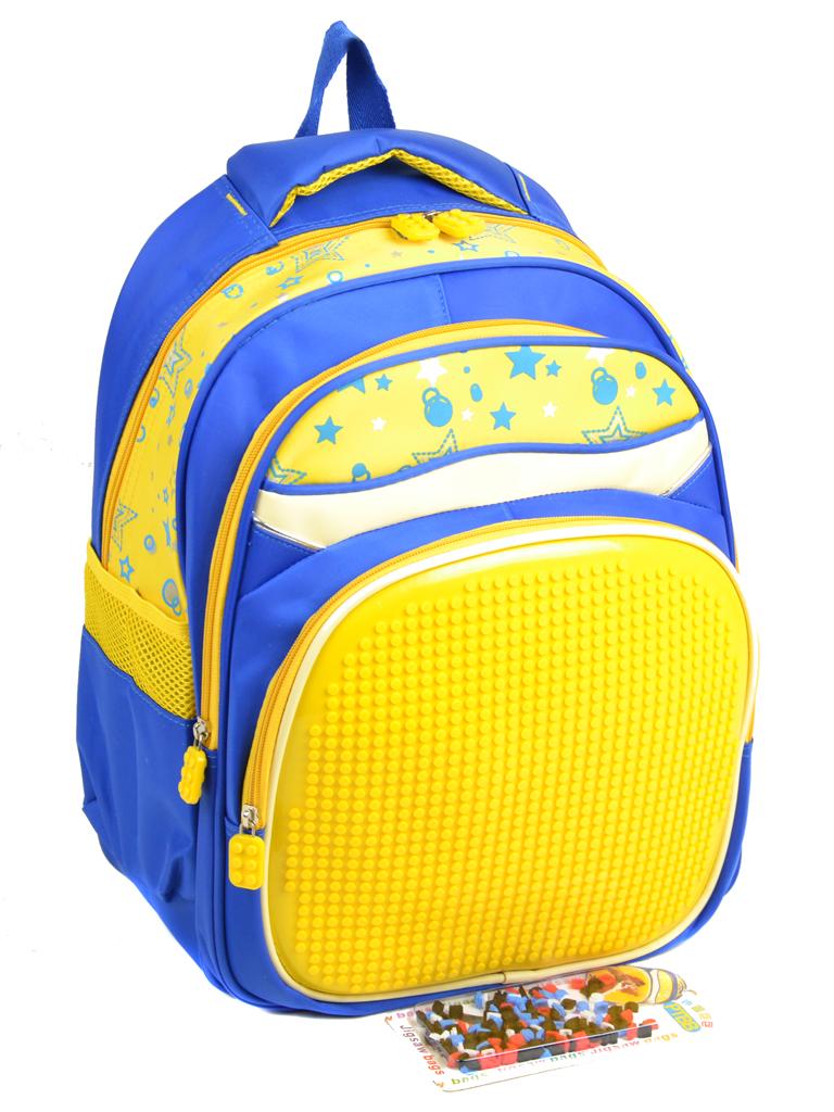 Рюкзак детский нейлон A1611 pixel yellow