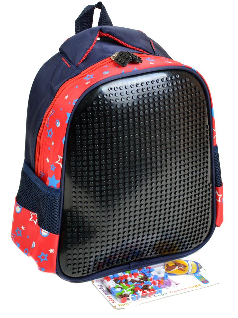 Рюкзак детский нейлон B888 pixel black