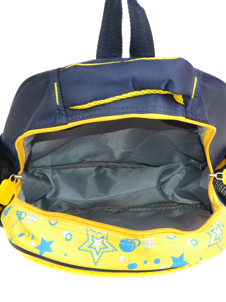 Рюкзак детский нейлон B888 pixel yellow - фото 4