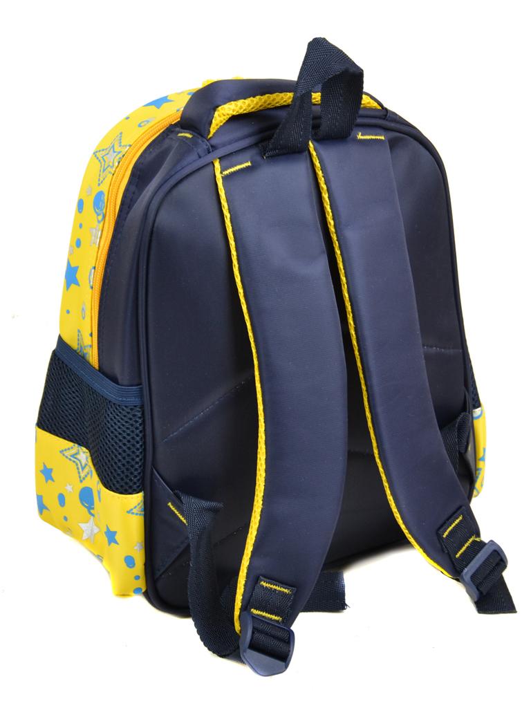 Рюкзак детский нейлон B888 pixel yellow - фото 3
