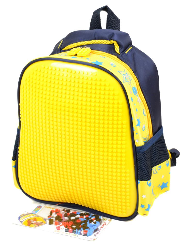 Рюкзак детский нейлон B888 pixel yellow