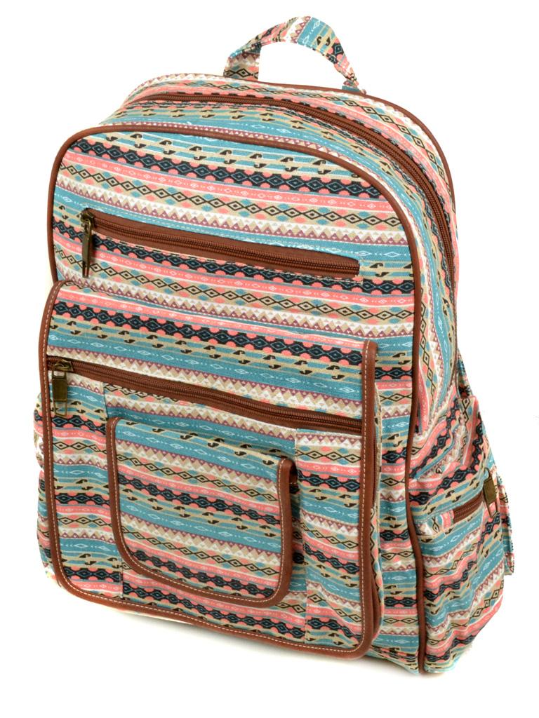 Рюкзак Городской ткань Индия 4034-45