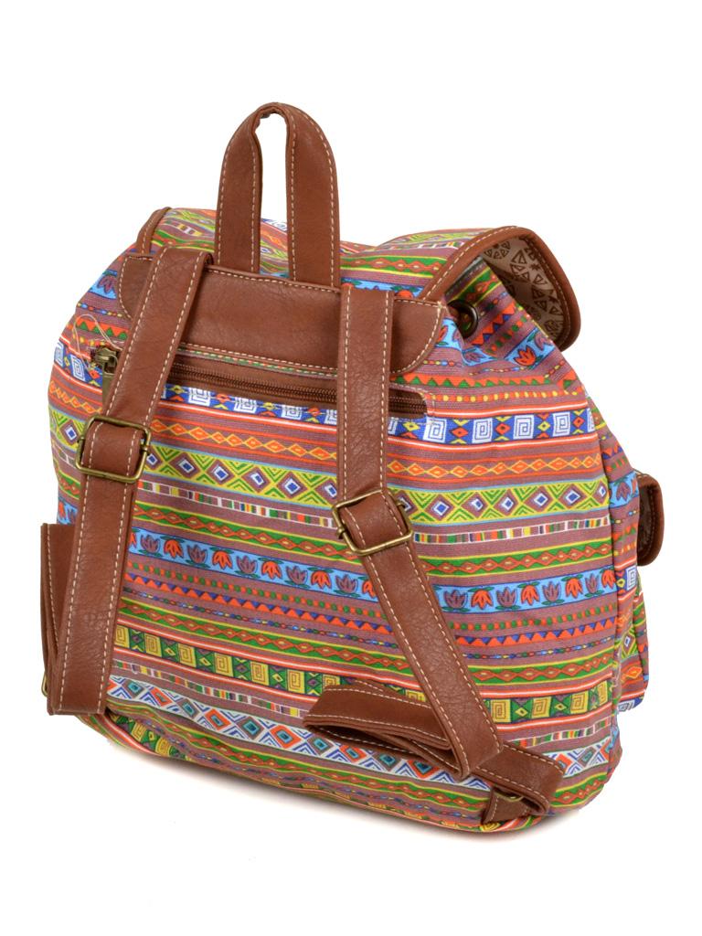 Рюкзак Городской ткань Индия 6110-24