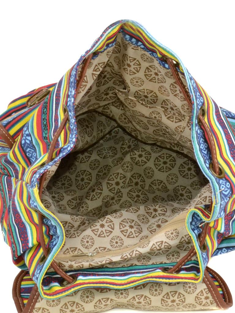 Рюкзак Городской ткань Индия 6110-26