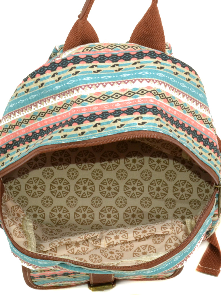 Рюкзак Городской ткань Индия 6126-39 - фото 4