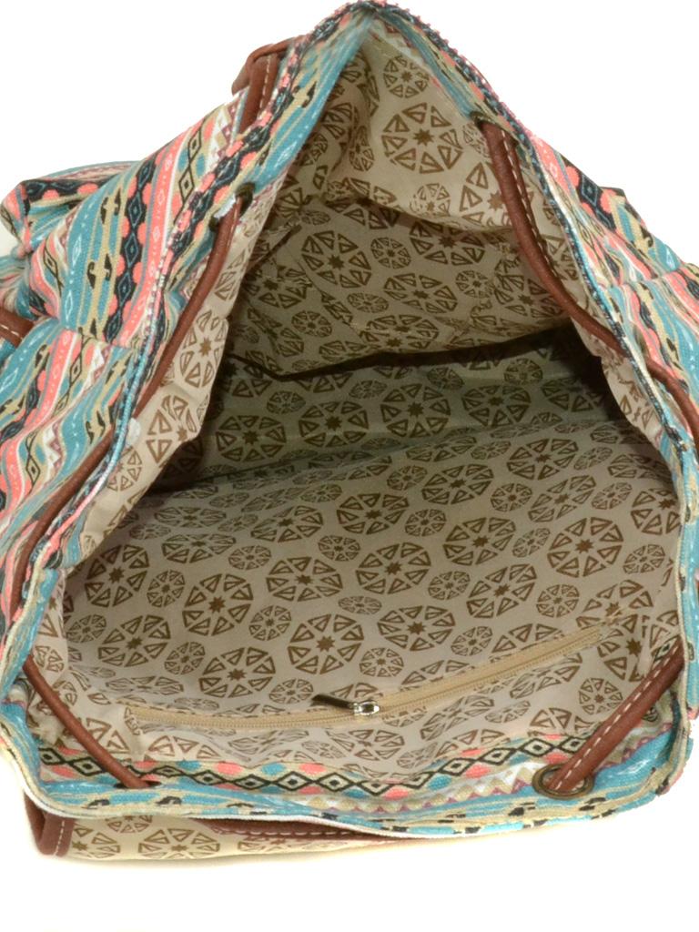 Рюкзак Городской ткань Индия 6129-51