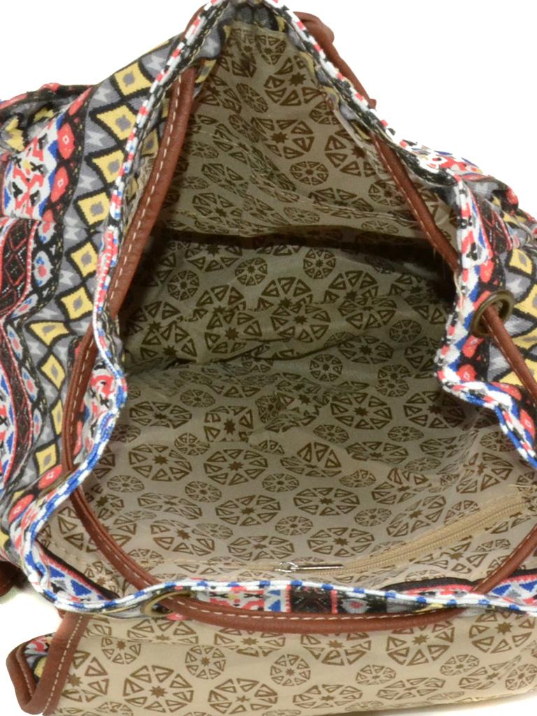 Рюкзак Городской ткань Индия 6129-52