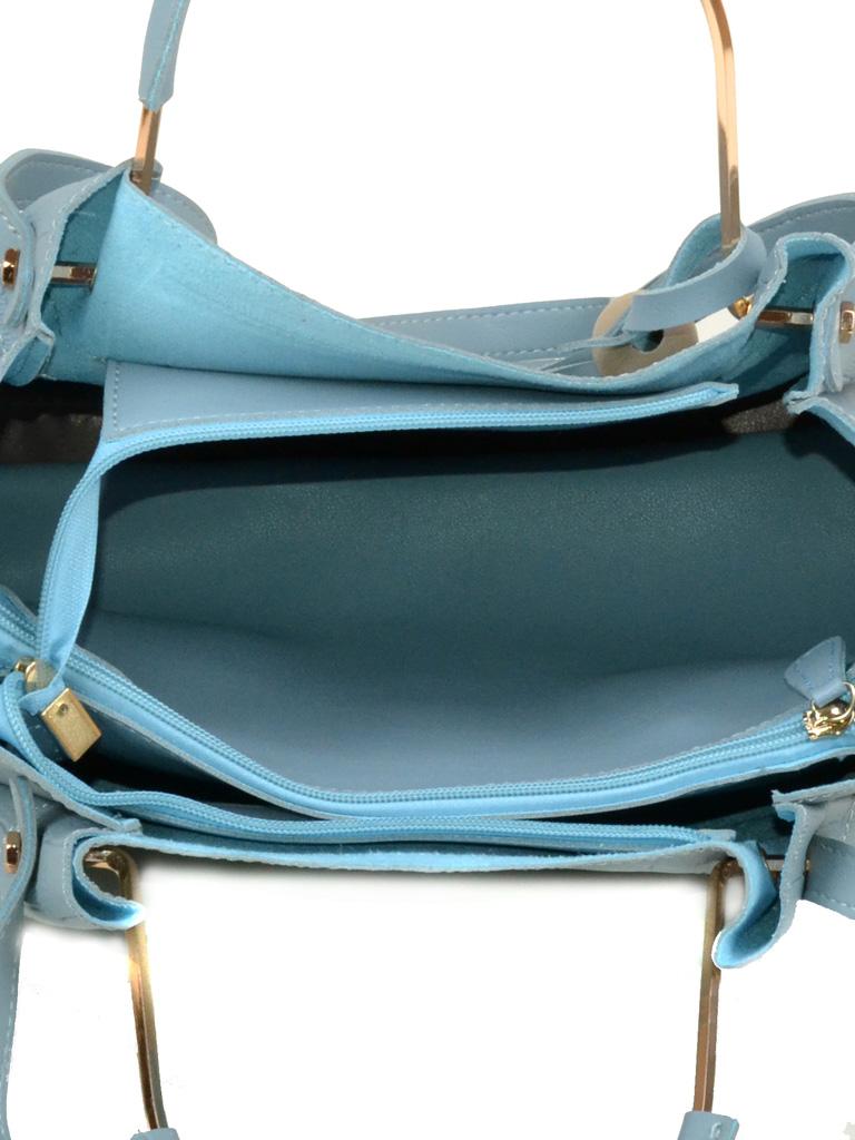 Сумка Женская Классическая иск-кожа Podium 5-01 1603 blue - фото 4