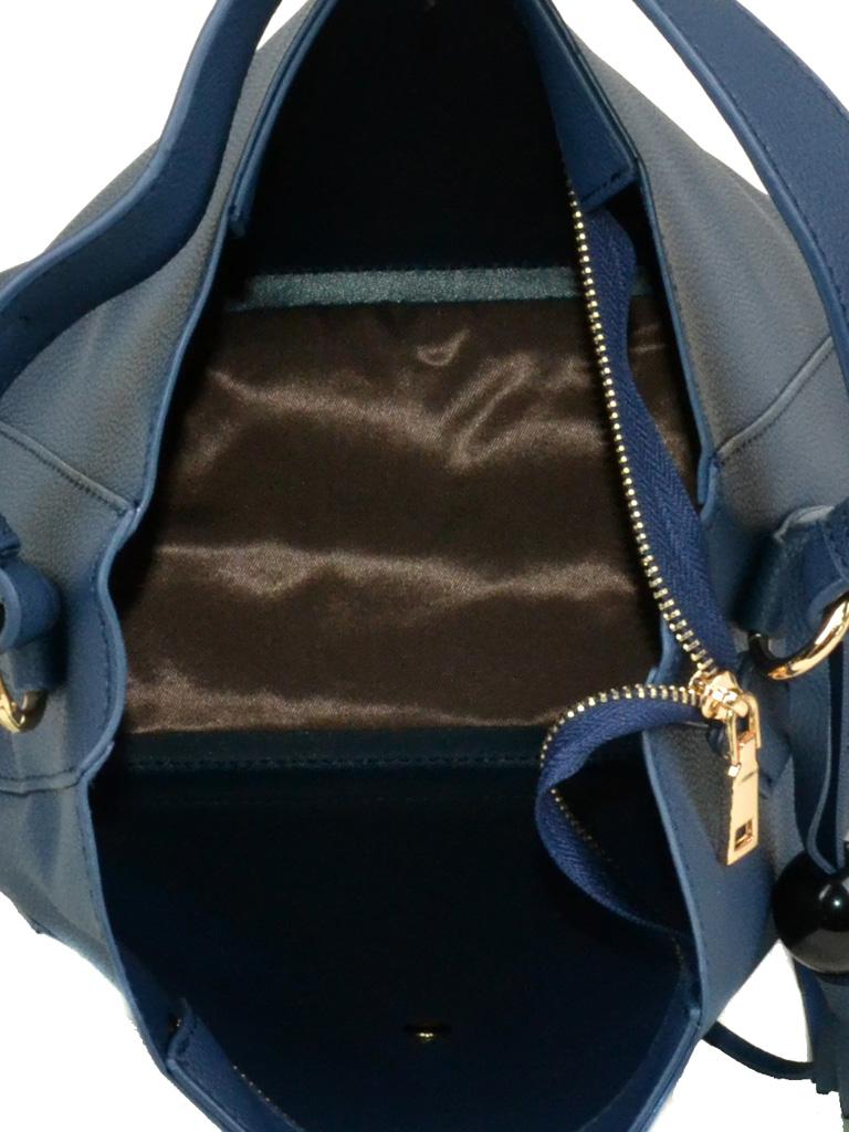 Сумка Женская Классическая иск-кожа Podium 5-01 1895 blue