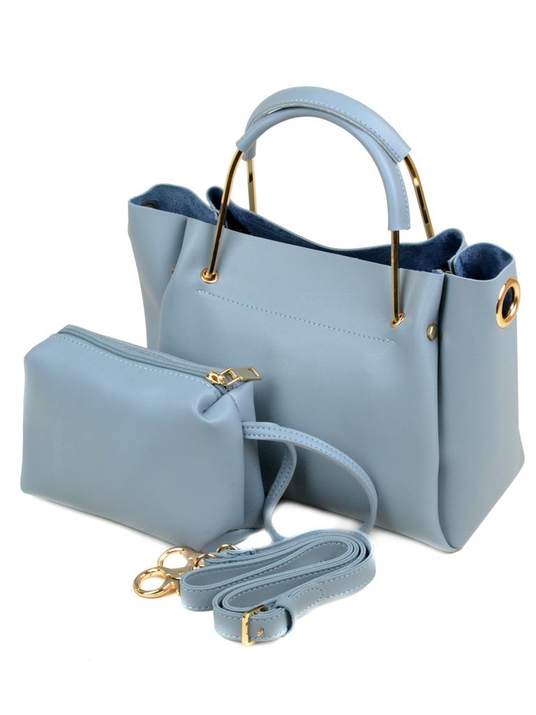 Сумка Женская Классическая иск-кожа Podium 5-01 7518 l-blue