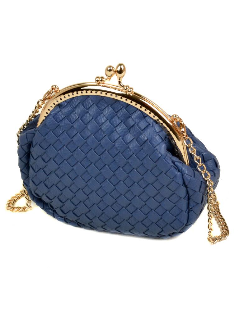 Сумка Женская Клатч иск-кожа Podium 5-01 A3-1 l-blue