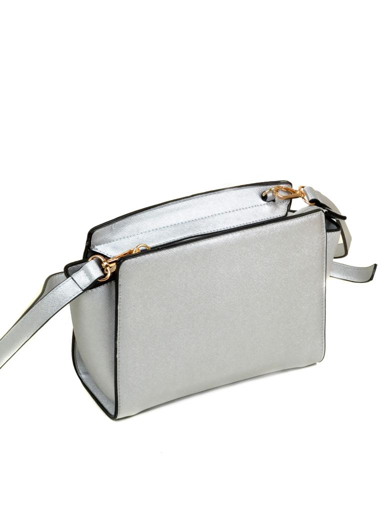 Сумка Женская Клатч иск-кожа 5-03 16855 silver