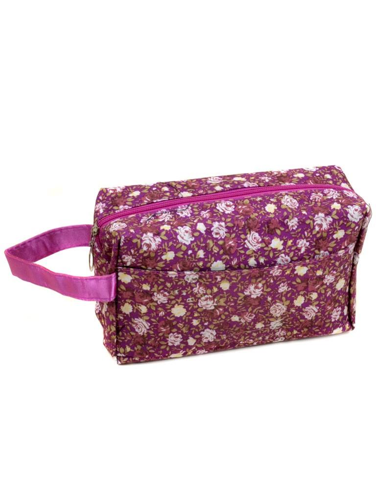 Косметичка текстиль 2912 фиолет