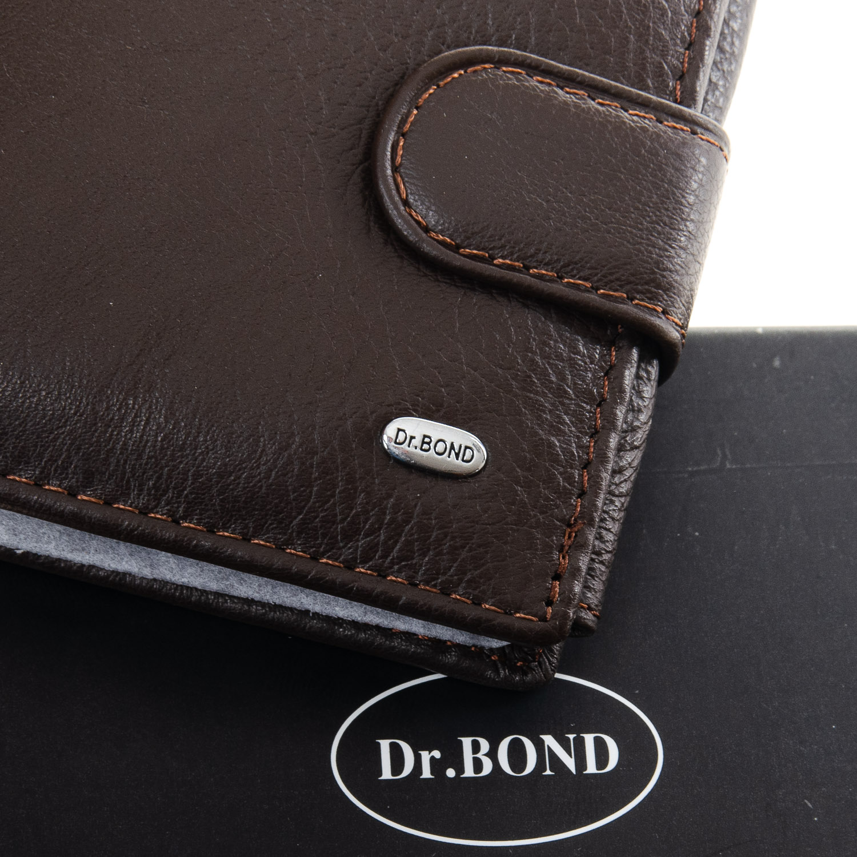 Кошелек Classic кожа DR. BOND M2 coffee - фото 3