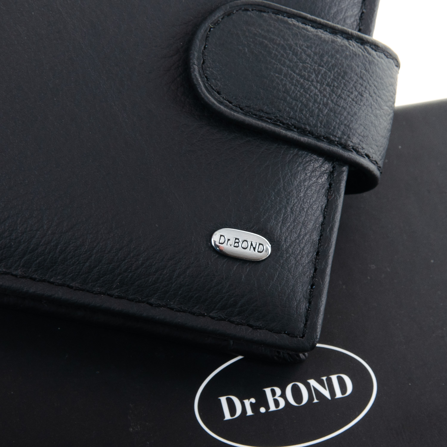 Кошелек Classic кожа DR. BOND M3 black - фото 3