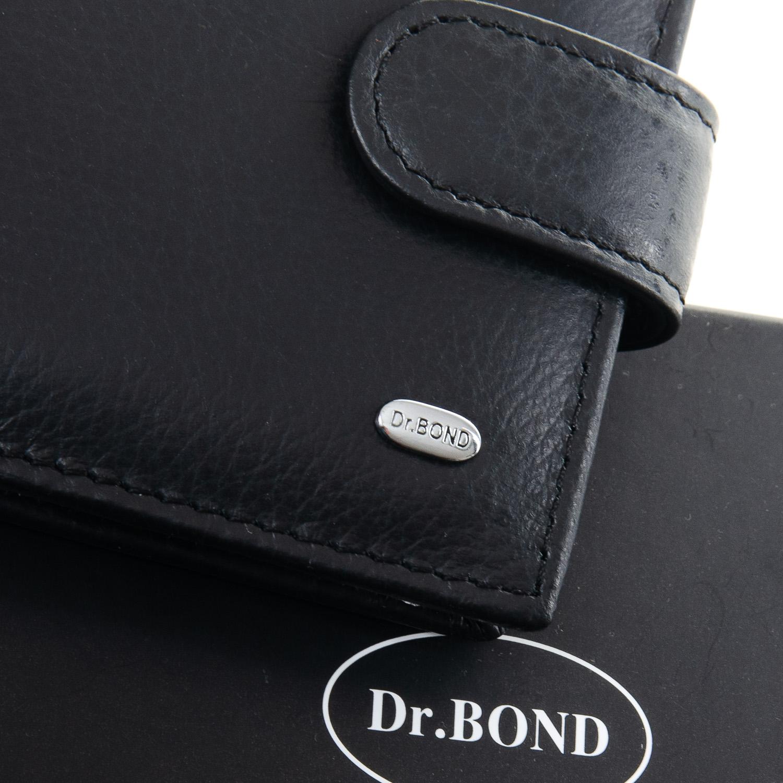 Кошелек Classic кожа DR. BOND M4 black - фото 3