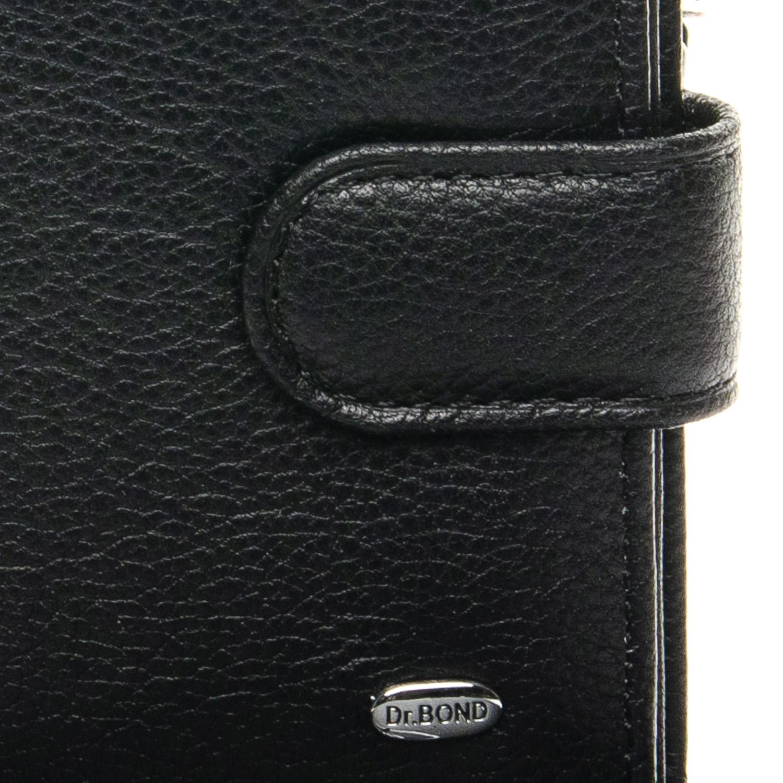 Кошелек Classic кожа DR. BOND M50 black - фото 3