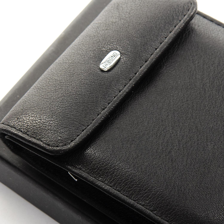 Кошелек Classic кожа DR. BOND M55 black - фото 3