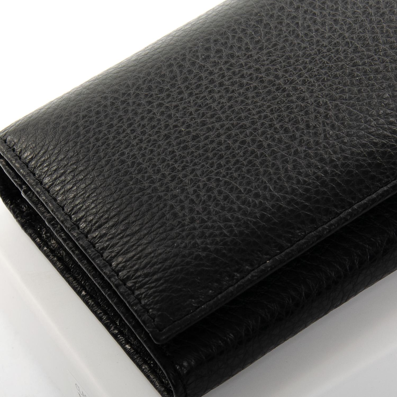 Кошелек Classic кожа DR. BOND W1-V black - фото 3