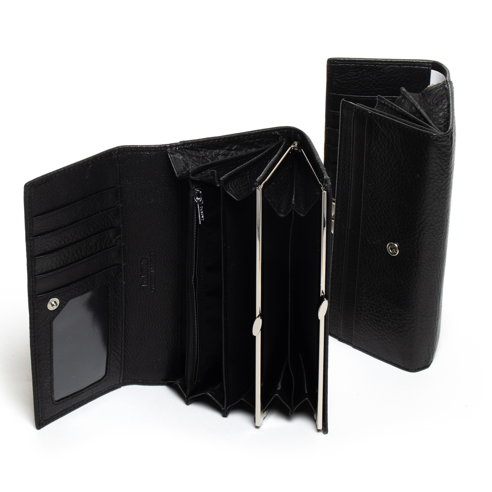 Кошелек Classic кожа DR. BOND W1-V black - фото 4