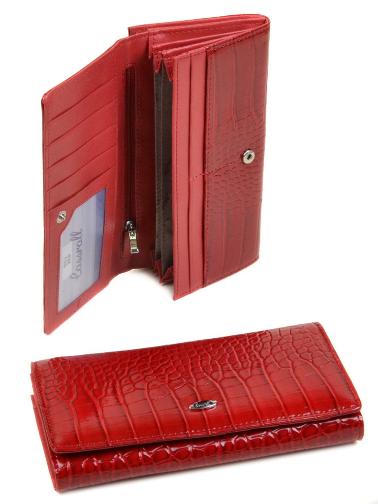 Кошелек Rose Series-1 иск-кожа Cossrol WD-3 red