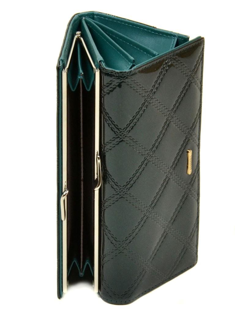 Кошелек Rose Series-2 иск-кожа Cossrol WD-3 dark-green
