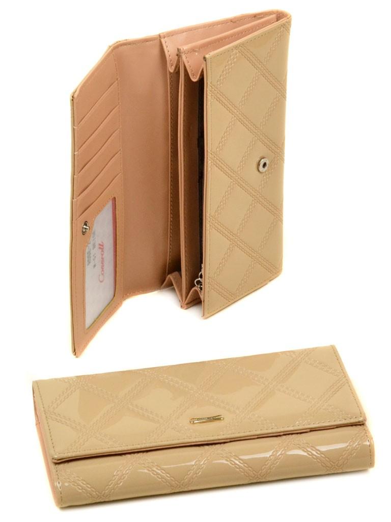 Кошелек Rose Series-2 иск-кожа Cossrol WD-51 beige