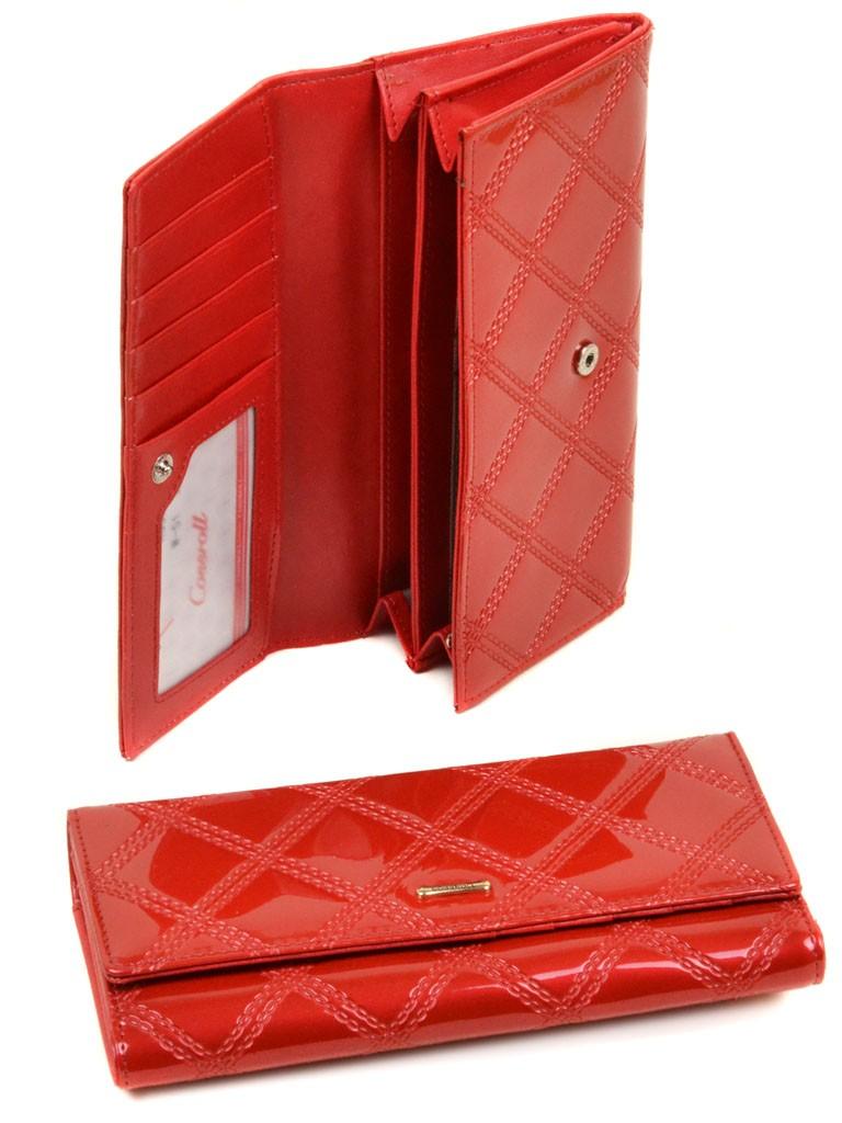 Кошелек Rose Series-2 иск-кожа Cossrol WD-51 red