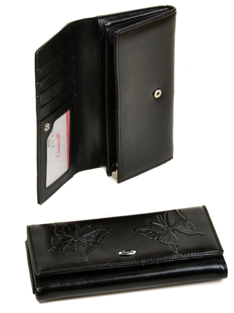 Кошелек Rose Series-3 иск-кожа Cossrol WD-51 black